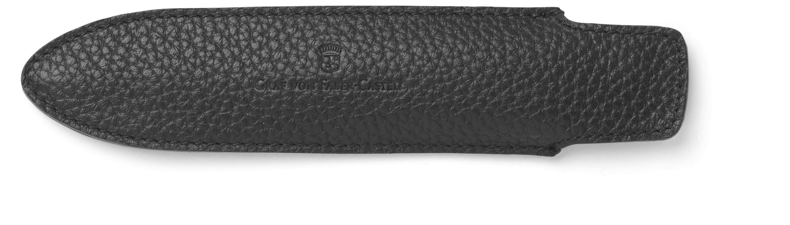 Graf-von-Faber-Castell - Sleeve for 1 pen Cashmere, short, black