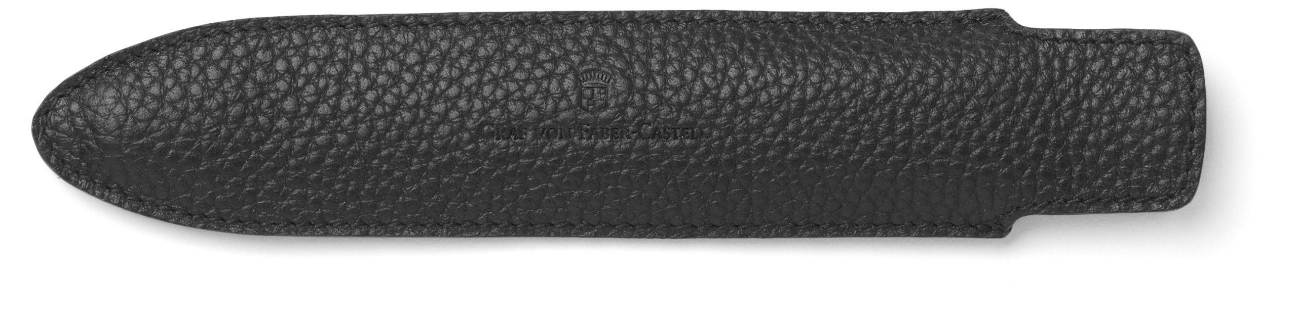 Graf-von-Faber-Castell - Sleeve for 1 pen Cashmere, long, black